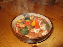 Anyone Can Cook Shrimp Ratatouille