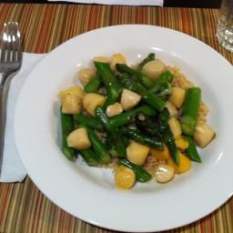 Scallops and Sunday Dinner