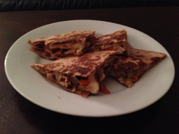 A Healthy Twist on a Restaurant Classic: Chicken Quesadillas