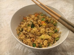 Cauliflower Fried Rice and the Golden Globes