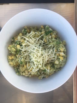 20 Minute Mexican Corn and Quinoa Salad