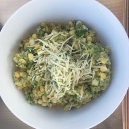 20 Minute Mexican Corn and Quinoa Salad